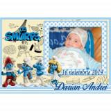 Marturii botez magneti Handmade by Diana Puiu Strumfi MDBS 9
