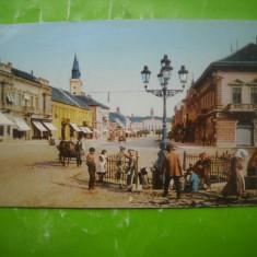 HOPCT 185 H ZOMBOR IN ANUL 1910 VOIEVODINA   SERBIA-CIRCULATA