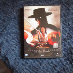 dvd legenda lui zorro