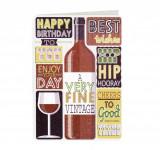 Felicitare - Happy Birthday A very fine vintage | Laura Darrington Design