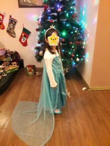 Rochie rochita printesa Elsa Frozen NOUA (cu eticheta) 2,3, 4, 5 si 6 ani