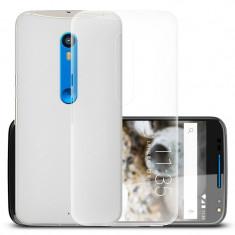 Husa MOTOROLA Droid Turbo 2 - Luxury Slim Case TSS, Transparent
