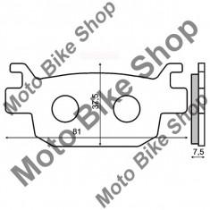 MBS Placute frana sinter Honda Jazz 250 spate, Cod Produs: 225102563RM