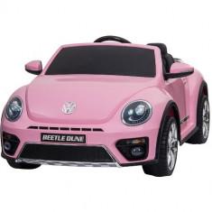 Masinuta Electrica Volkswagen Beetle Dune Pink