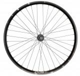 Roata Bicicleta Spate Atlas 26 , Profil Dublu Culoare Negru, Cnc, Spite Otel Nichelate, Butuc Metal, Pinion Argintiu, 3 8, 36H