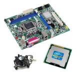 Kit Placa de Baza Refurbished Intel DH61WW, Dual Core i3-2100, Cooler