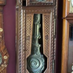 Impresionanta pendula de podea de provenienta franceza Dupuy a Loudun