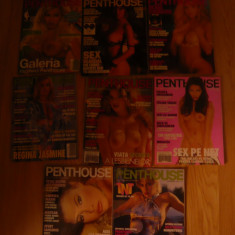 Lot 8 Reviste sexi - Penthouse- 6 in limba romana si 2 in lb germana 1992-2004