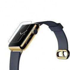 Folie sticla Apple Watch 38mm, Tempered Glass, protectie ecran ceas Smartwatch