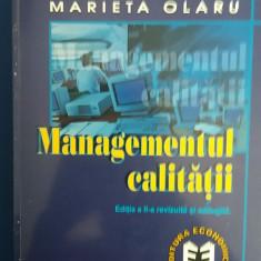 RWX 61 - MARIETA OLARU - MANAGEMENTUL CALITATII