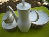 Portelan Thomas, ceainic, 6 farfurioare desert, 3 cesti de cafea