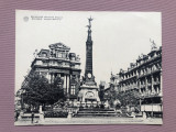 Carte postala format mare - BRUSSELS (9) Monumentul Anspach