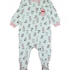 Salopeta / Pijama bebe imprimeu catei Z119
