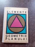 Elemente de geometrie a planului - Adolf Haimovici si Alice Corduneanu