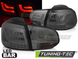 Stopuri LED compatibile cu VW GOLF 6 10.08-12 Fumuriu LED BAR