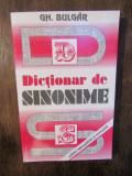 Dicționar de sinonime - Gh. Bulgăr