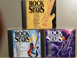 Rock Super Stars - Selectiuni - 3CD Set (1995/BMG/Germany) - CD ORIGINAL/ca Nou