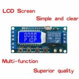 Releu cu timer si ecran display oled programabil DC 6-30V micro USB 5V