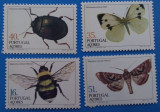 -AZORE--Fauna-INSECTE-Serie- MNH-lux, Stampilat