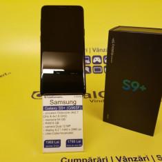 Samsung S9 Plus / Dual sim , Cutie+Incarcator (18956), Negru, Neblocat, Smartphone