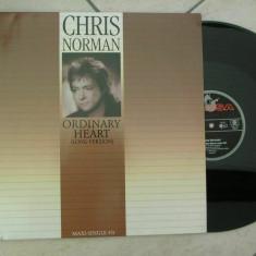 Chris Norman - Ordinary Heart 1988, Hansa disc vinil Maxi Single