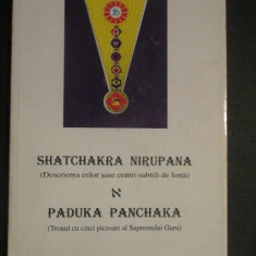 Shatchakra nirupana& Paduka panchaka