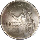 Romania, 100000 lei 1946_replica * cod 202