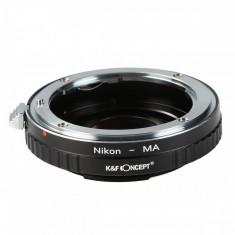 K&F Concept Nikon-MA Adaptor montura cu sticla optica de la Nikon F la Sony A mount KF06.120
