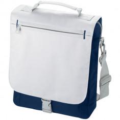 Geanta de conferinte, curele ajustabile, Everestus, PA, 600D poliester si 300D poliester, albastru navy, sac si eticheta incluse