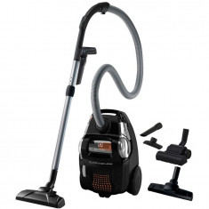 Aspirator fara sac Electrolux ESC63EB, 650 W, 2.75 l, filtru Hygiene, tub telescopic, perie DustPro, parchet, Turbo, clasa A, negru