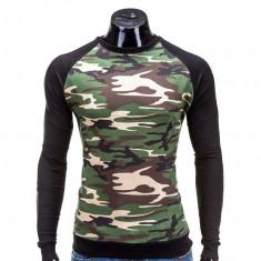 Bluza pentru barbati, camuflaj, stil militar, army, slim fit - B505