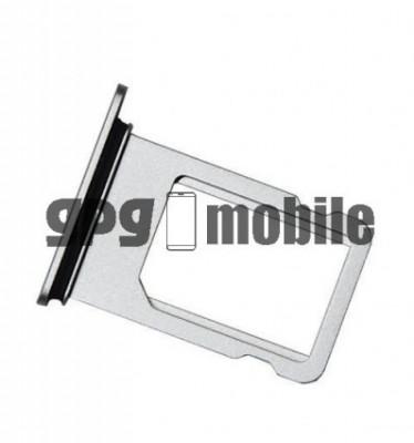 Suport SIM iPhone X Silver foto