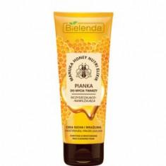 Spuma curatare fata nutritiva si hidratanta zi/noapte pt piele uscata si sensibila Miere Manuka Nutri Elixir, 175 ml