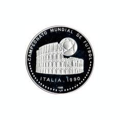 Cuba 5 Pesos 1989  - (World Cup) Argint 16g/999, Aoc1 KM-226 aUNC !!!