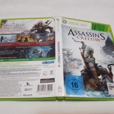 [360] Assassin's Creed III - joc original Xbox360