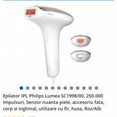 Epilator IPL Philips Lumea 1998