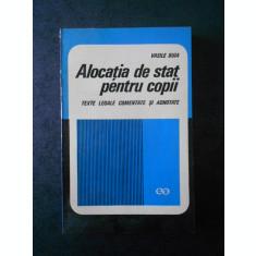 VASILE BUIA - ALOCATIA DE STAT PENTRU COPII