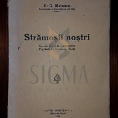G. G. MATEESCU - STARMOSII NOSTRI [ CUSRSURI TINUTE LA UNIVERSITATEA POPULARA VALENII-DE MUNTE]