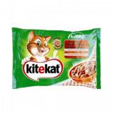 Pachet hrana umeda pentru pisici Kitekat Meniuri Rustice 4x100g