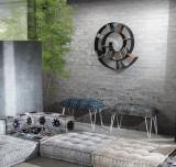Raft perete Chiocciola Dark Grey - Tomasucci 3245
