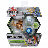 Set figurine Bakugan S2 Start - Pegatrix Trox si Nillious Ultra