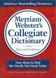 Merriam Webster Collegiate Dictionary (1620 pg, CD, cartonata) ed. a 11a