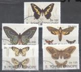 Sao Tome e Principe 1992 Butterflies, used AL.065