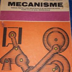 Mecanisme - mecanica, electrotehnica, mine-petrol-geologie, metalurgie Buc. 1985