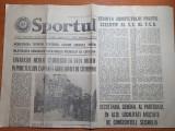 Sportul 7 martie 1977-articole si foto cutremurul din 4 martie