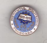 Bnk ins Insigna Institutul politehnic Timisoara - 50 ani 1920-1970, Romania de la 1950