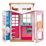 Casuta de papusi, Barbie, Tip valiza, 30×76 cm
