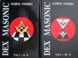 Cumpara ieftin DEX Masonic (vol. I + II) - Olimpian Ungherea