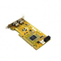 Adaptor Refurbished PCIe la 2 x FireWire IEEE 1394, HP 515182-001, Low Profile
