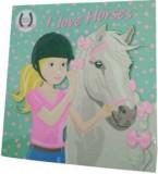 I love horses (verde)/***